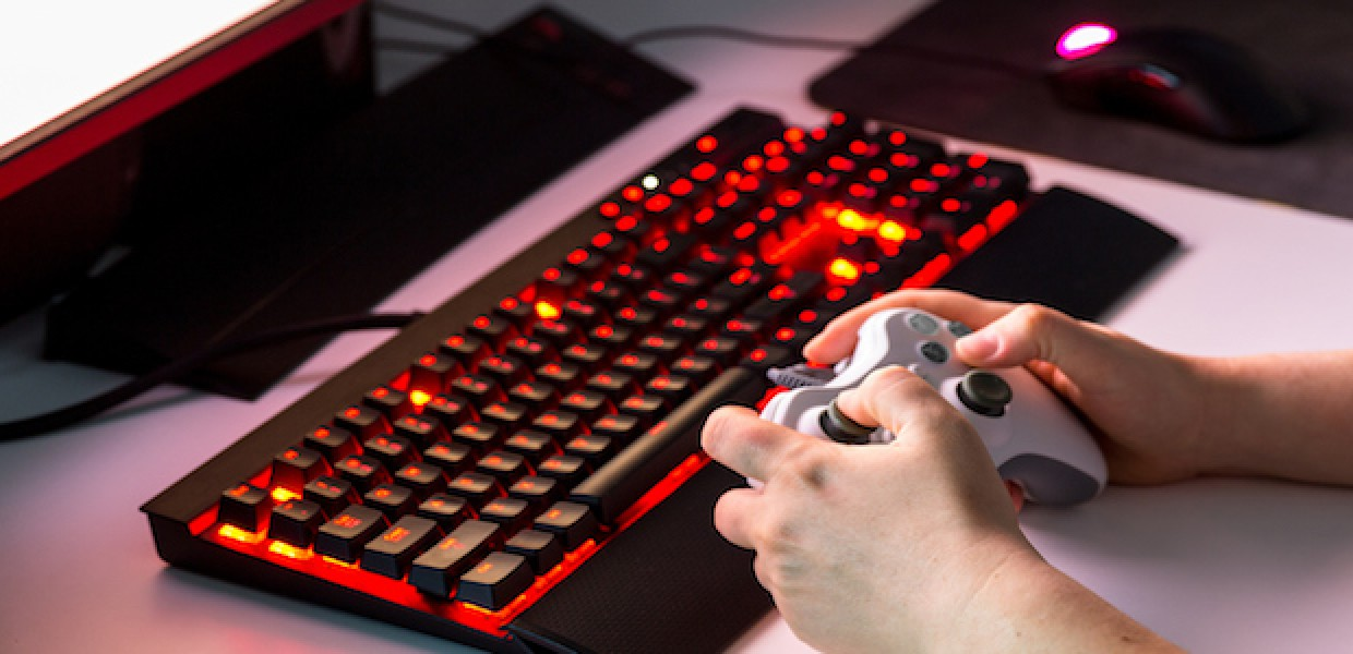 Gamer Keyboard and Mouse