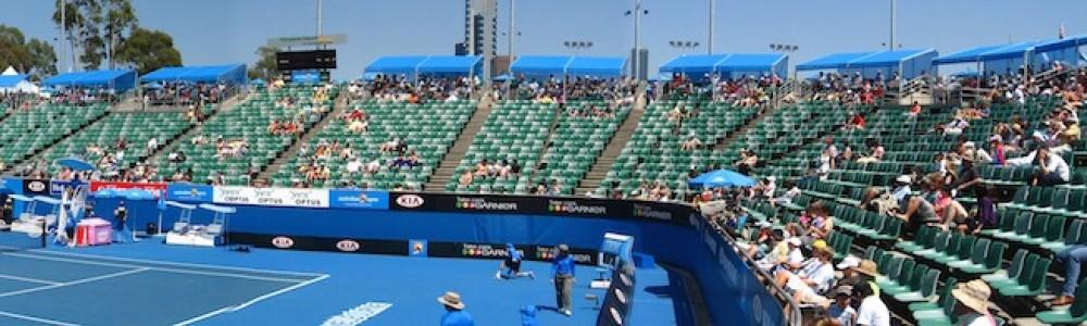 Australian Open Tennis Court