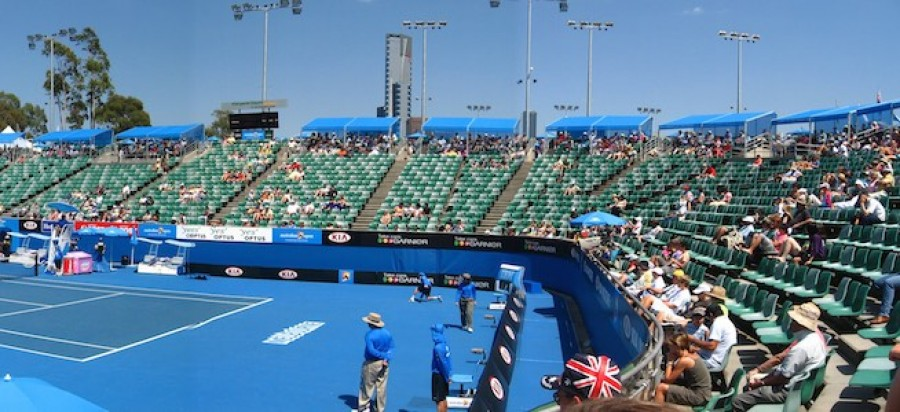 Australian Open Tennis Court