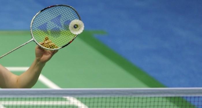 Badminton volley