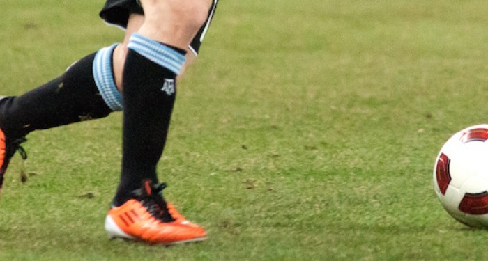 Feet and football