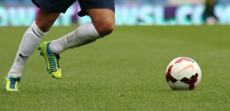 Football Taking a Kick