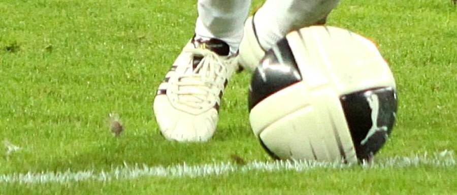 Football at Feet