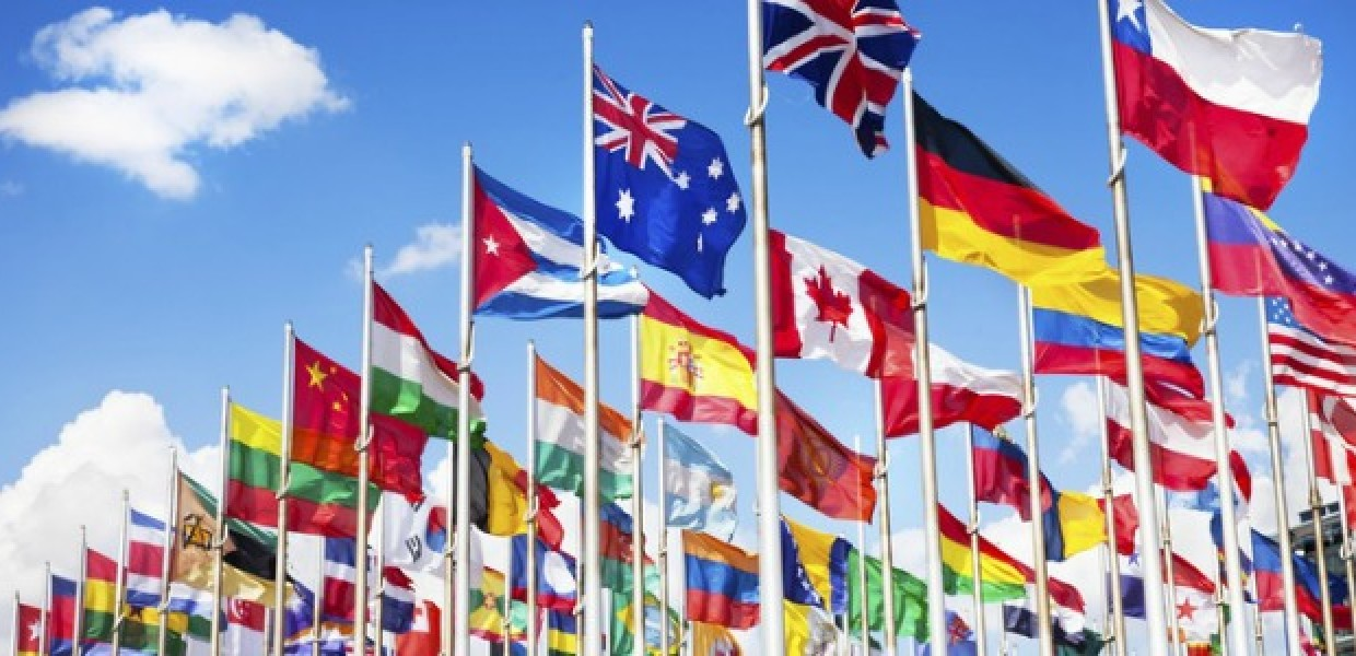 Multiple Flags Flying