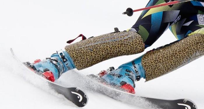 Skis on Snow