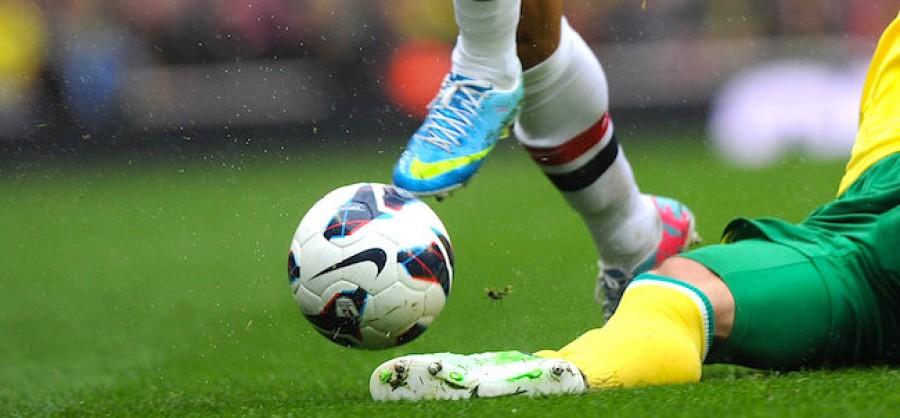 Football slide tackle