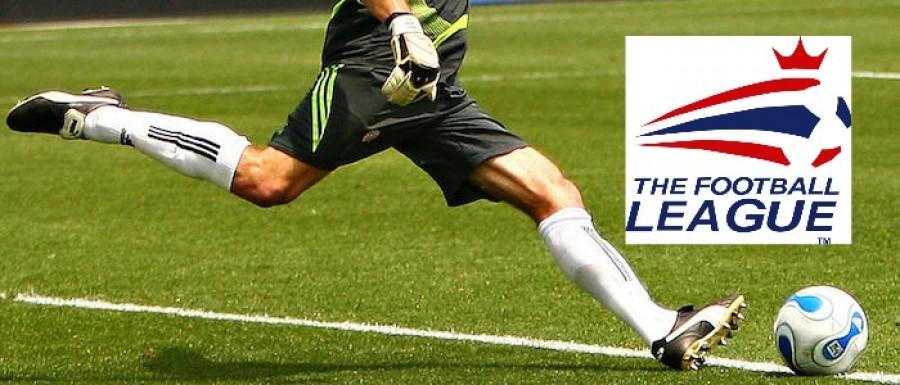 Goal Kick with The Football League Logo