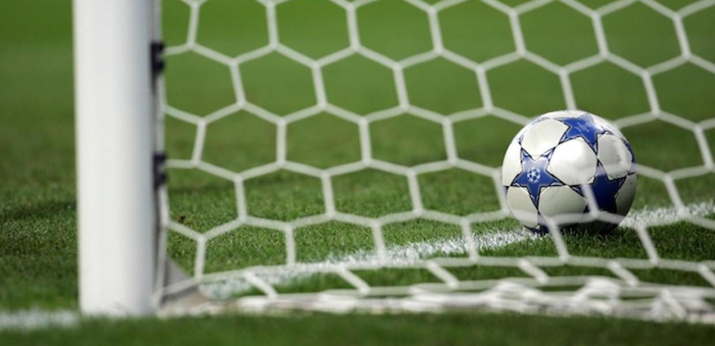 Football on Goal line