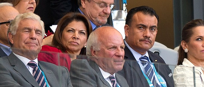 Greg Dyke at 2014 World Cup