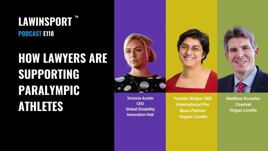 How lawyers are supporting Paralympic athletes - E118