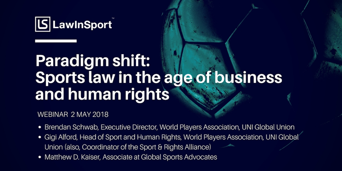 Human Rights and Sports Webinar