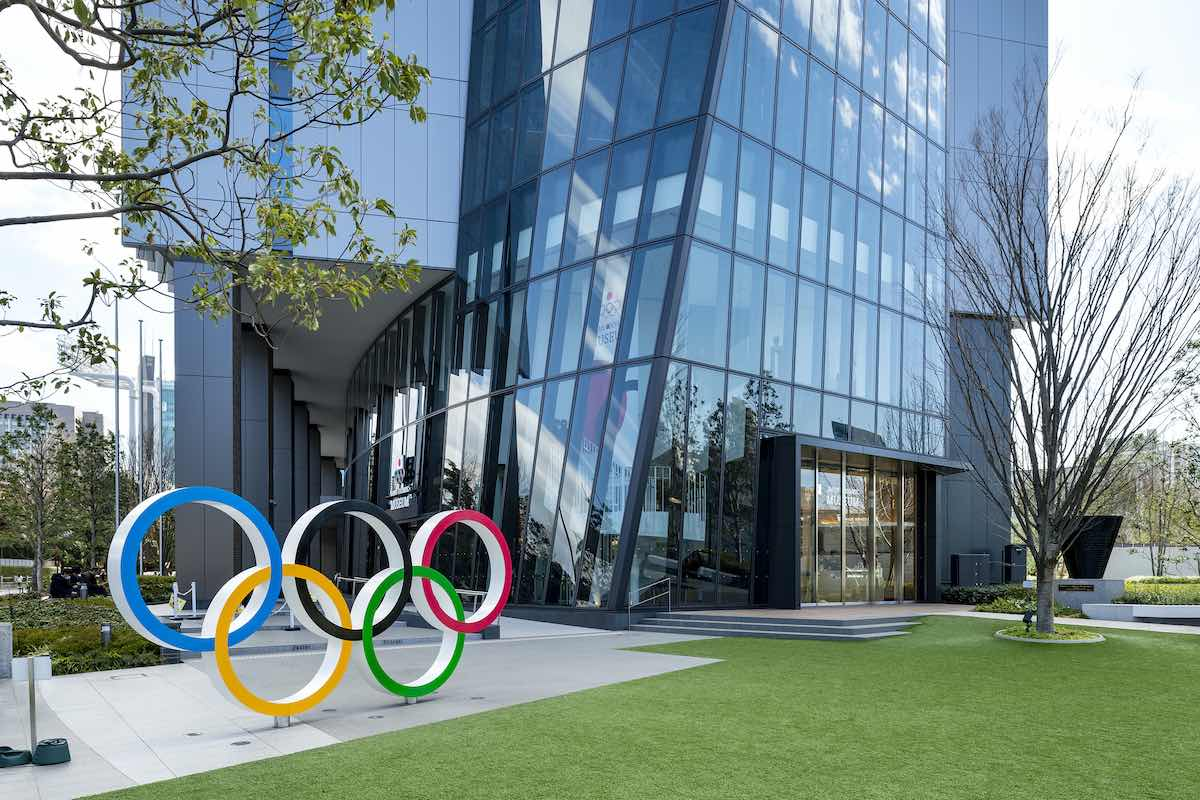 Picture of the Japan Olympic Museum