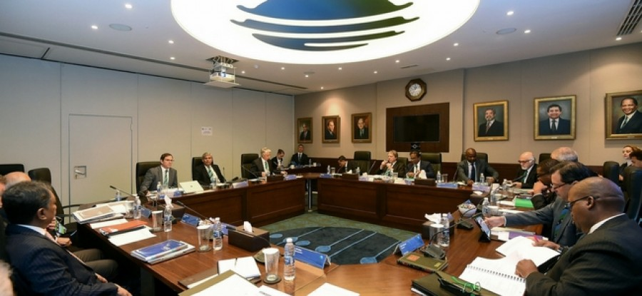 Image provided by the ICC of the ICC Board Meeting