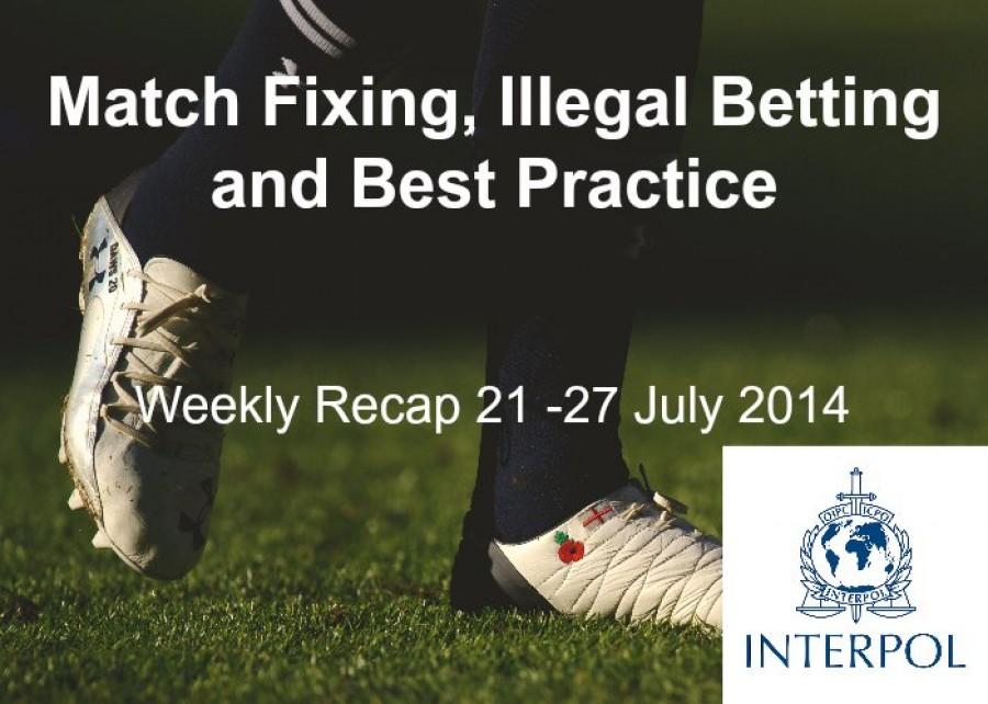 Interpol Blog Recap