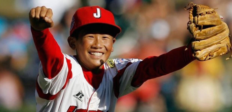 Japanese Little League Baseball Player
