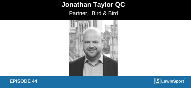 Interview with Jonathan Taylor QC