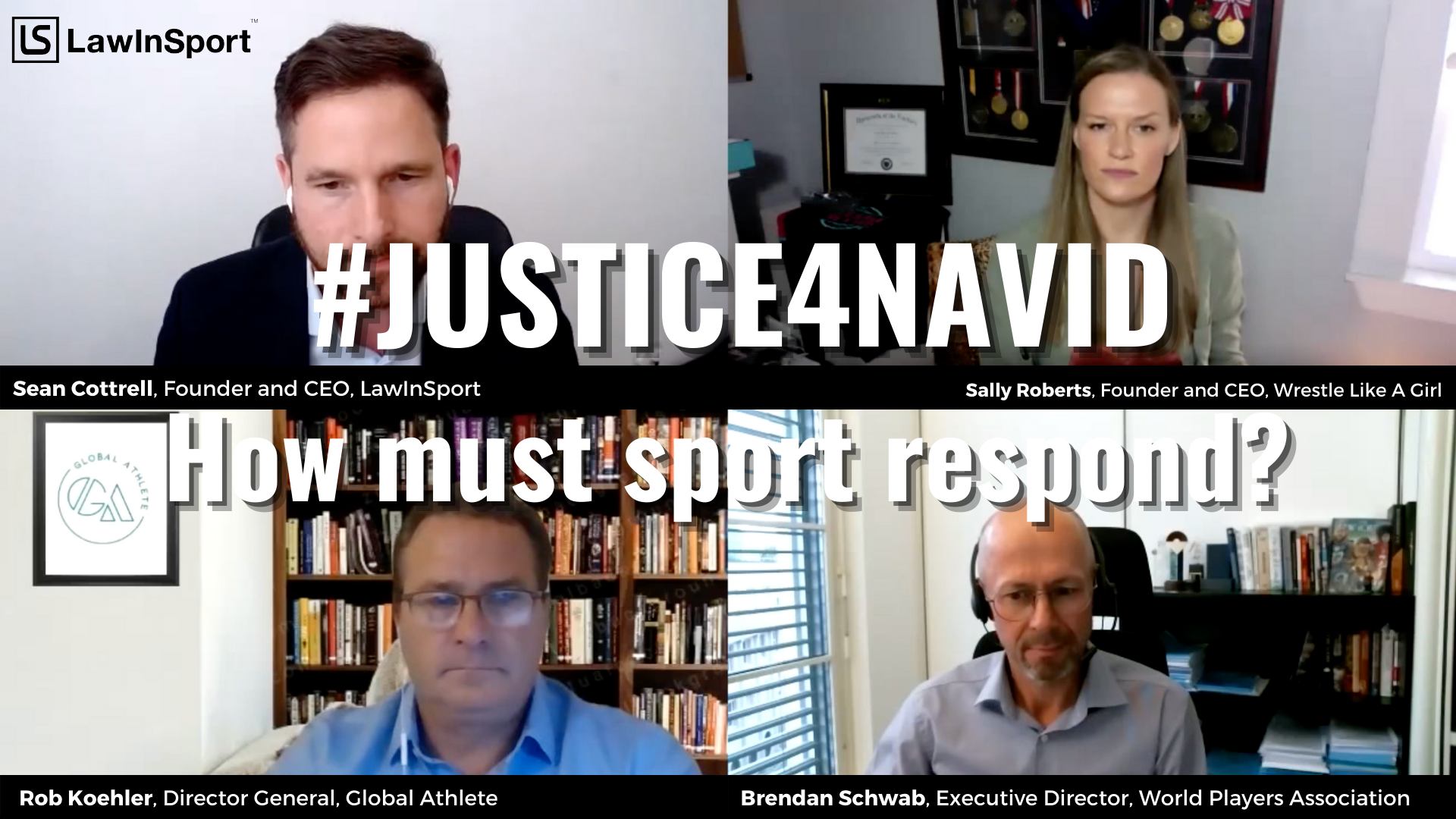 #Justice4Navid - How should sport respond?