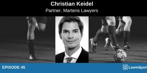 Christian Keidel Interview Image with football background