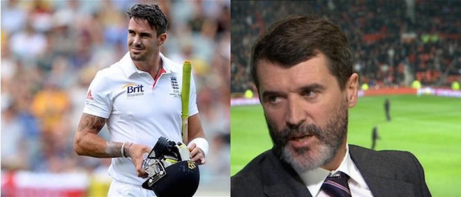 Kevin Pietersen and Roy Keane