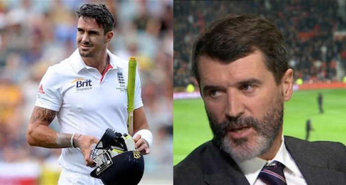 Kevin Pietersen and Roy Keane
