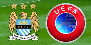 Man City F.C. and UEFA Logo