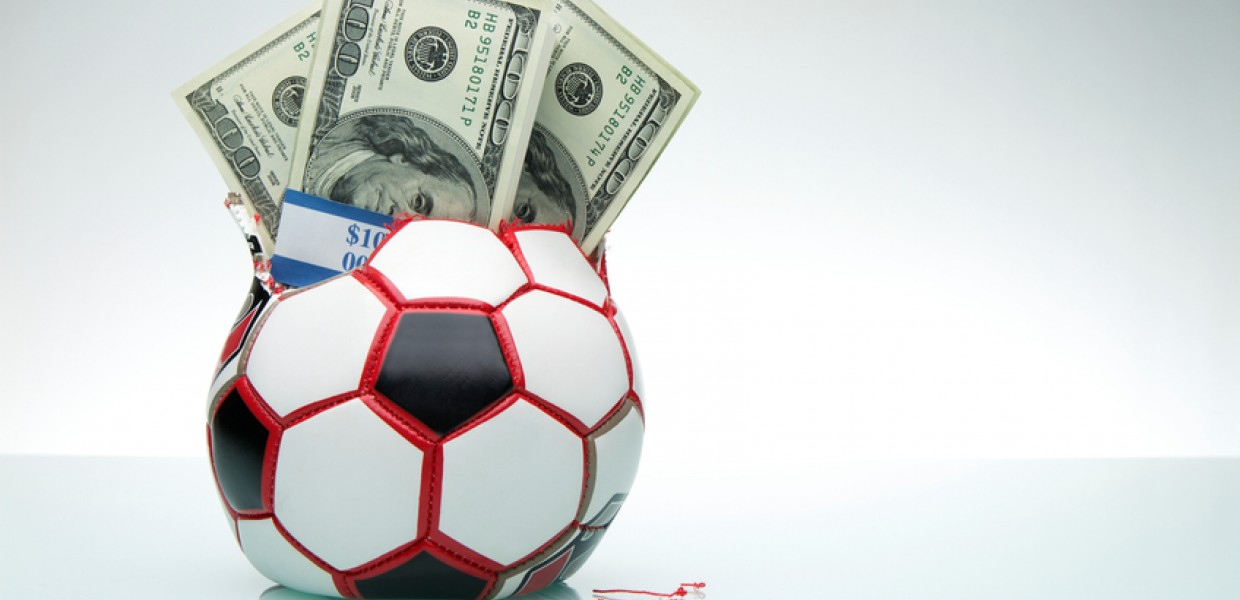 Money inside football