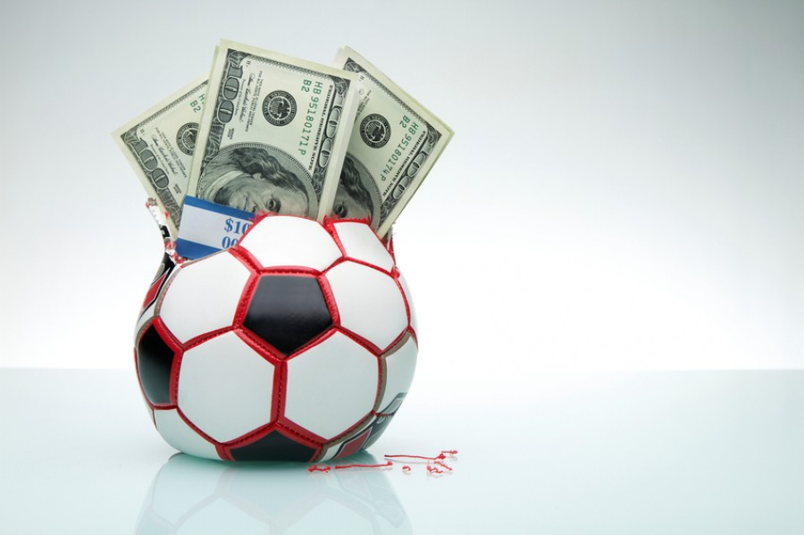 Money inside football