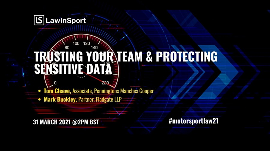 Title image - trusting your team & protecting sensitive data