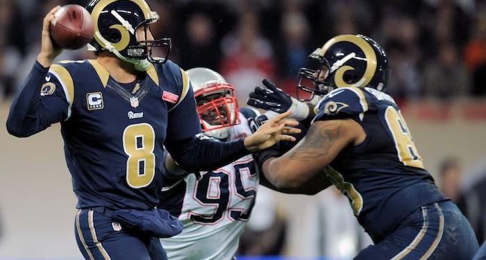 NFL Quarterback Sam Bradford