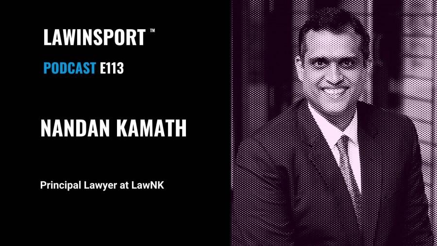Nandan Kamath, Principal Lawyer, LawNK - E113