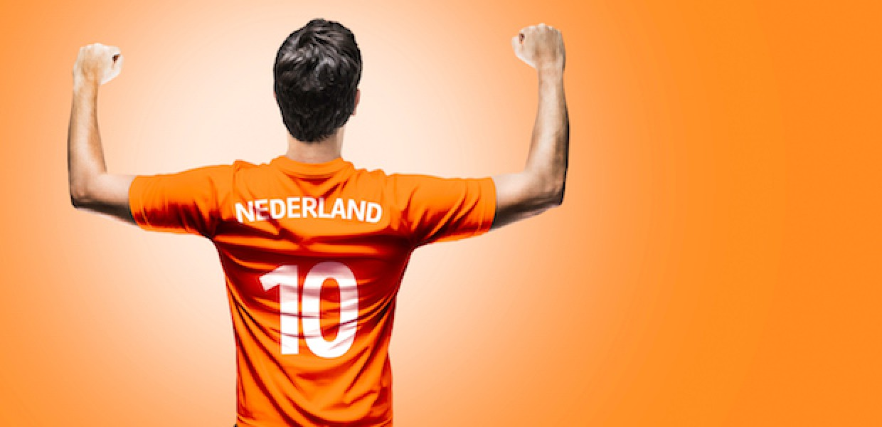 Netherlands football fan