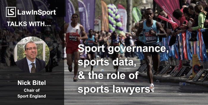 Nick Bitel, CEO London Marathon & Chair of Sport England