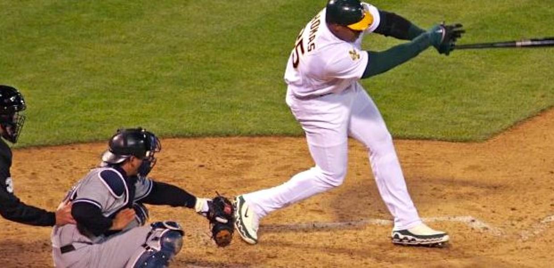 Oakland Batter Baseball