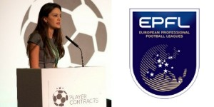 Ornella Desiree Bellia and the EPFL Logo