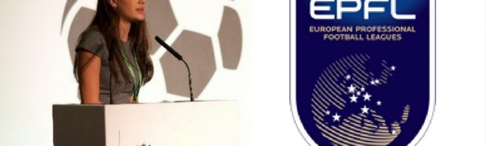 Ornella Desiree Bellia and the EPFL Logo