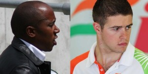 Paul Di Resta and Anthony Hamilton