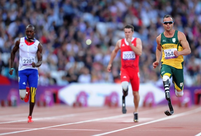 Pistorious on track