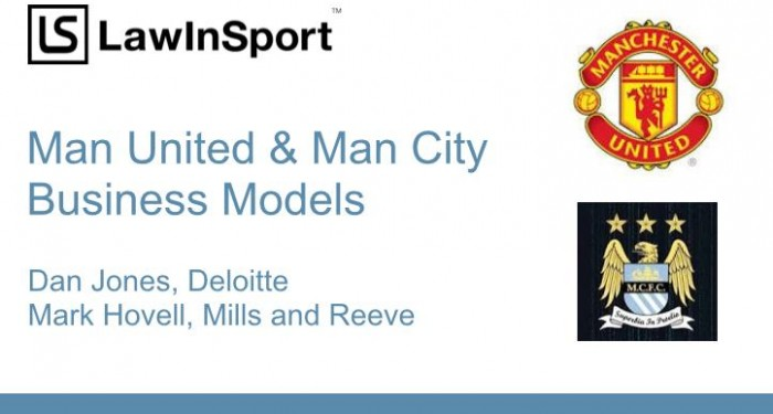 Podcast Cover - A Comparison of Man City's and Man United's Business Models - Soccerex 2014