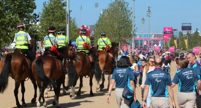 Police_on_Horses_at_London_2012