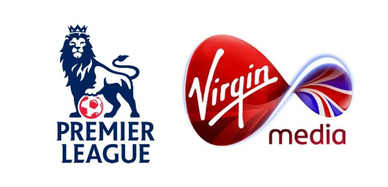 Premier League and Virgin Media Logos