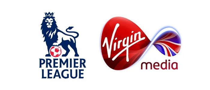 Premier League and Virgin Media Logos