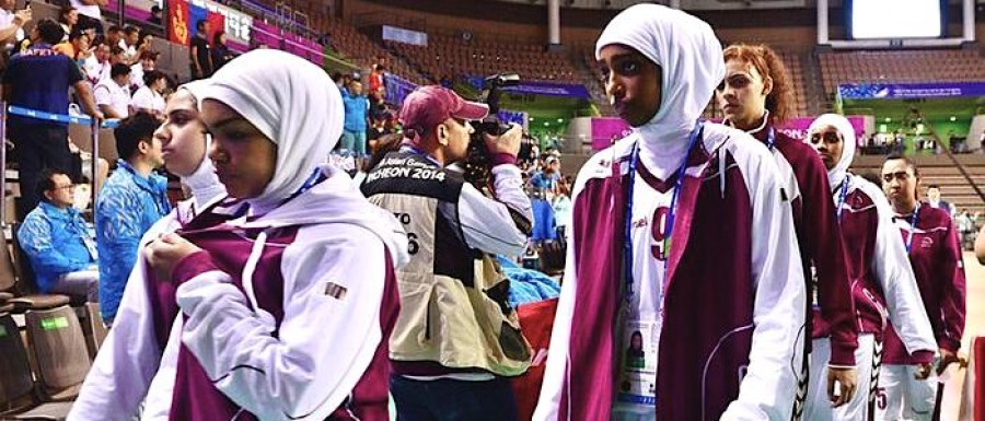 Qatar Womens Basketball Team