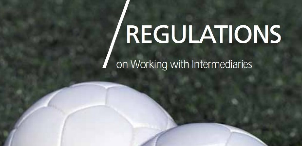 Regulation on working with intermediaries