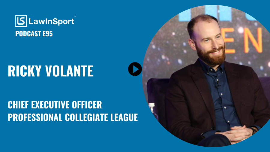 Ricky Volante, Chief Executive Officer at the Professional Collegiate League - E95