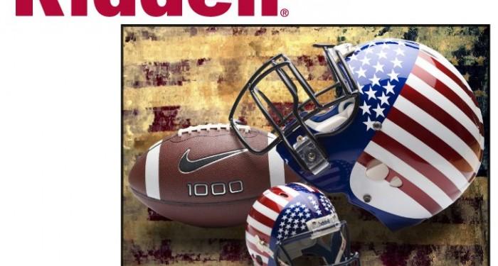 Riddell Logo American Football and helmet