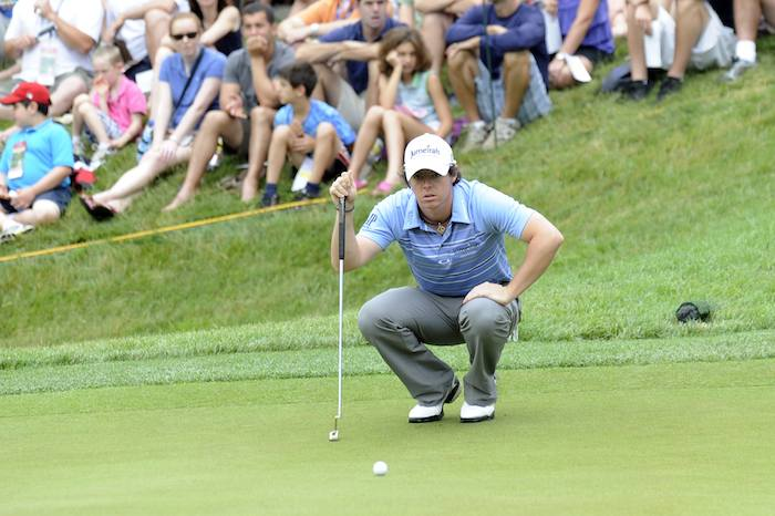 Rory McIlroy Putting