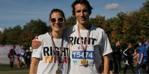 Sign-up for Royal Parks Half Marathon with Team Right to Play