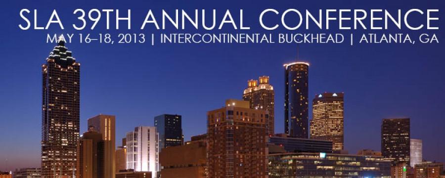 SLA 39th Annual Conference 2013