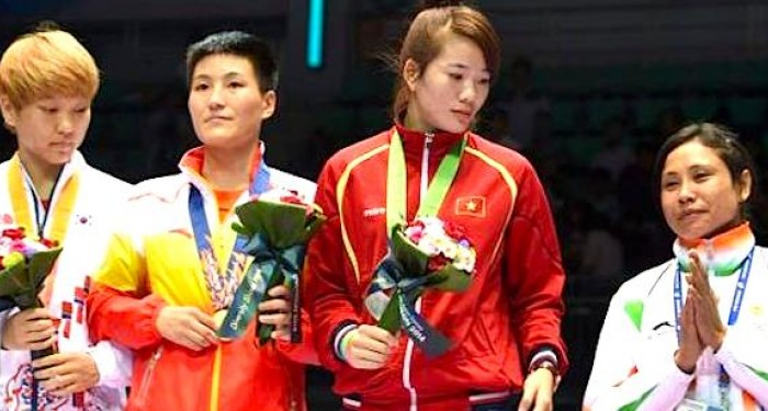 Sarita Devi Incheon Ceremony