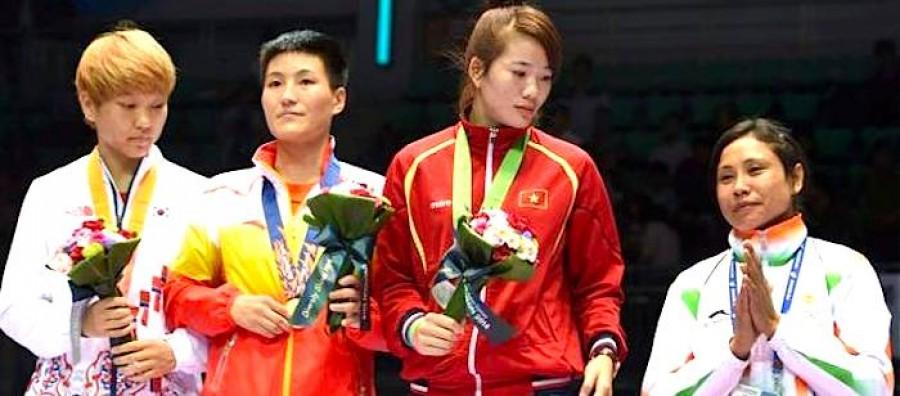 Sarita Devi Incheon Ceremony